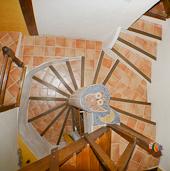 Gite les 4 chemins à Rians en Provence - ses escaliers