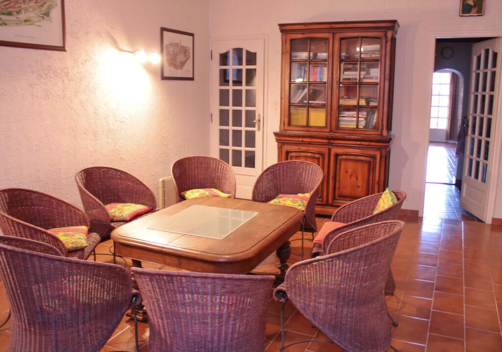 Gite les 4 chemins à Rians en Provence- Salon